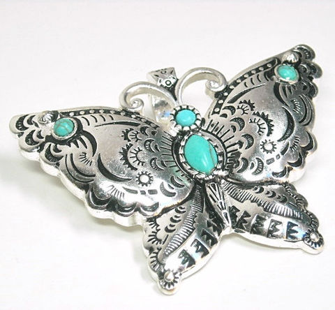 Butterfly,Pendant,-,Magnetic,Clip,On,Turquoise,Interchangeable,Southwest,Native,Style,Stamped,Supplies,butterfly,butterfly_pendant,turquoise_butterfly,southwest,magnetic_pendant,removable_pendant,clip_on_pendant,symbolic_butterfly,interchangeable,western_butterfly,butterfly_jewelry,nature,DIY_Necklace,magnetic pendant