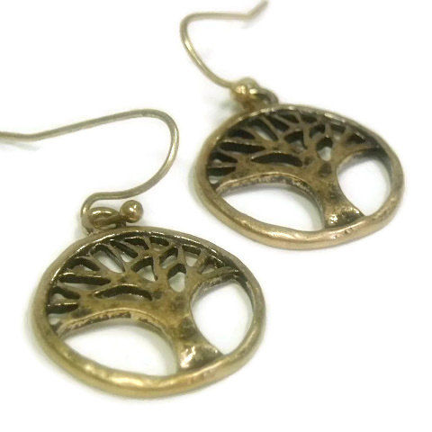 Tree,of,Life,Earrings,-,Gold,Metal,Dangle,Woodland,Symbolic,Boho,Rustic,Family,Nature,Hippie,Jewelry,tree_of_life,tree_earrings,tree_jewelry,symbolic_tree,Dangle_Earrings,Bohemian,nature,woodland,gold_tree_earrings,boho_hippie,family_tree,minimalist,black_friday_cyber_m,tree of life charms,gold plated shepherds hooks