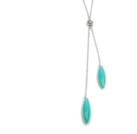 Turquoise,Necklace,-,Rhodium,Lariat,Southwest,Jewelry,Minimalist,Boho,Teardrop,Layering,Turquoise_Necklace,Turquoise_Jewelry,Lariat_Necklace,Rhodium_Jewelry,Southwest_jewelry,Minimalist_Necklace,adjustable_necklace,layering_necklace,y_necklace,simple_delicate,boho_bohemian,stacking_necklace,black_friday_cyber_m,rhodium chain