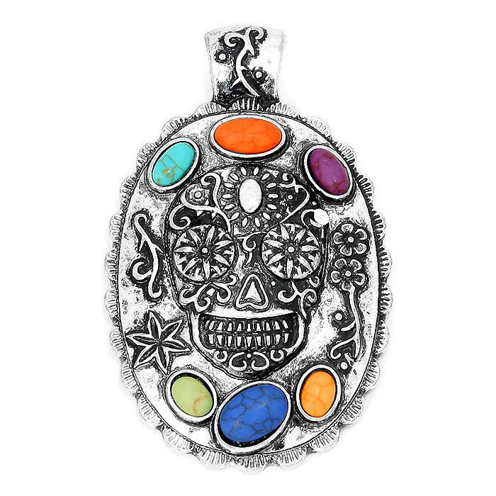 Sugar Skull Magnetic Pendant  - product images  of