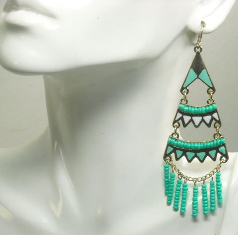 Bohemian,Jewelry,,Boho,Chic,Earrings,,Turquoise,,Long,Dangle,,Southwest,,Gypsy,,Hippie,,Cowgirl,,Chandelier,Beaded,Jewelry,Earrings,bohemian_jewelry,long_dangle_earrings,turquoise_mint_gold,tier_earrings,chandelier_earrings,gypsy_earrings,boho_chic,southwest_earrings,hippie_retro_60s_70s,trending_earrings,bohemian_earrings,chevron_earrings,black_friday_cyber_m,gold pl