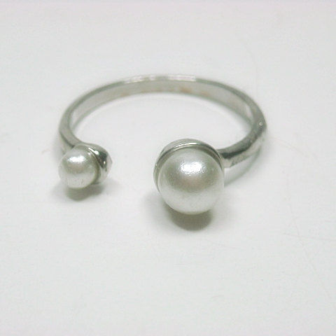 Pearl Cuff Ring - product images  of