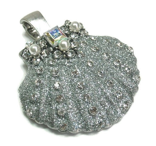 Stardust Seashell Magnetic Pendant - product images  of