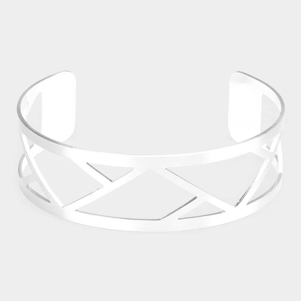 White metal striking bracelet