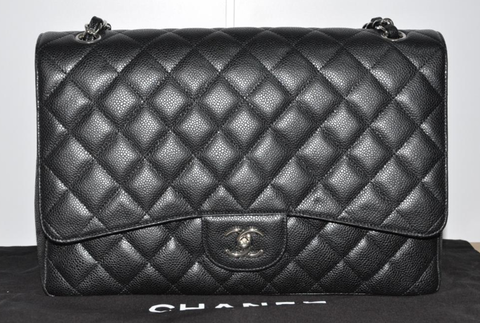Chanel,Caviar,Maxi,chanel, chanel maxi,  caviar leather, chanel bag