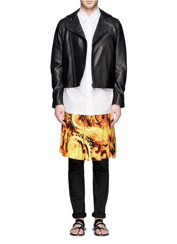 Givenchy,Fire,Kilt,givenchy fire kilt, givenchy mens, givenchy consignment