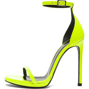 Saint,Laurent,Neon,Stiletto,Sandal,stiletto sandal, saint laurent sandal, saint laurent shoes