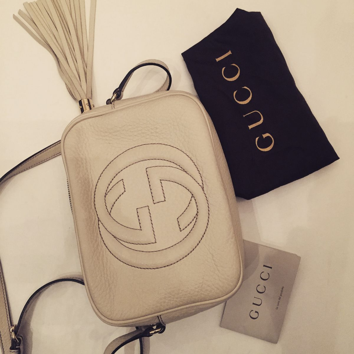 Gucci -Soho leather disco bag - product images  of