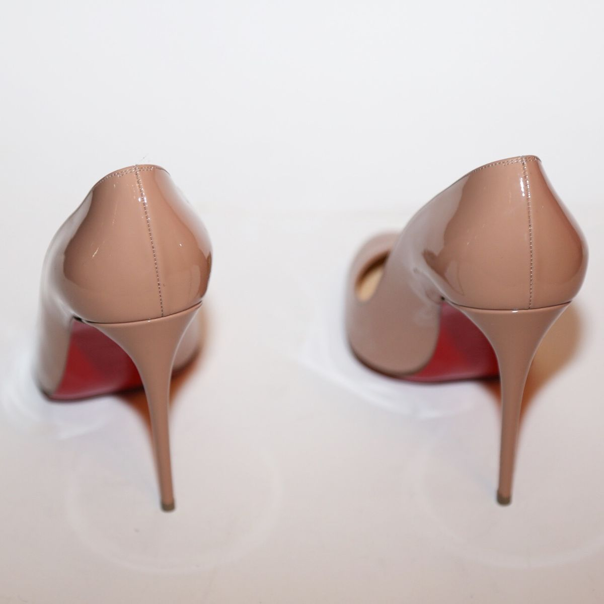 Christian Louboutin Patent Nude Pump - product images  of