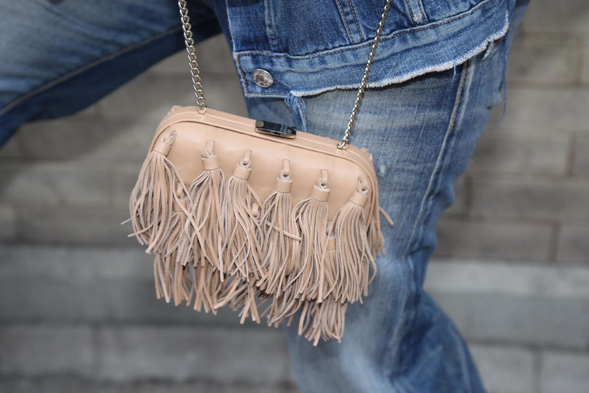 Loeffler Randall Tassel Clutch - product images  of