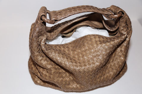 Bottega,Veneta,Woven,shoulder,Bag, handbag, shoulder bag, consignment