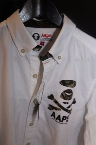 Aape,by,A,Bathing,Ape,shirt,Babe, A bathing ape, clothing, consignment, camo