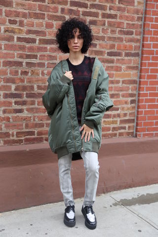 R13,Bomber,bomber, jacket, r13 denim, fall clothing, consignment