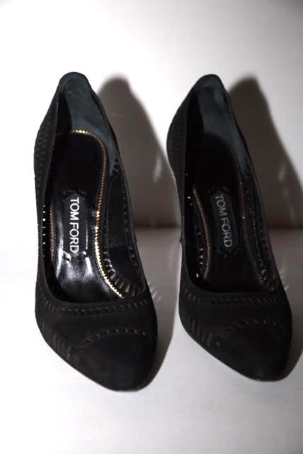 Tom Ford Black Suede Pump - product images  of