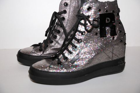 Ruco,Line,Glitter,Wedge,Sneaker,Rico line , wedge sneaker, consignment