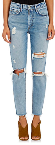 GRLFRND,Karolina,Distressed,Skinny,Jeans,Denim, women's, distressed, GRLFRND