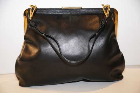 Marni,Shoulder,Bag,marni handbag, marni vintage bag, evening bag, black leather bag, gold hardware