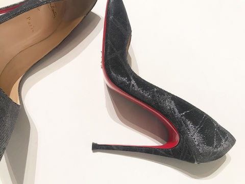 CHRISTIAN,LOUBOUTIN,SO,KATE,BLACK/SILVER,PUMP,CHRISTIAN LOUBOUTIN, CHRISTIAN LOUBOUTIN CONSIGNMENT, SO KATE, SO KATE PUMPS