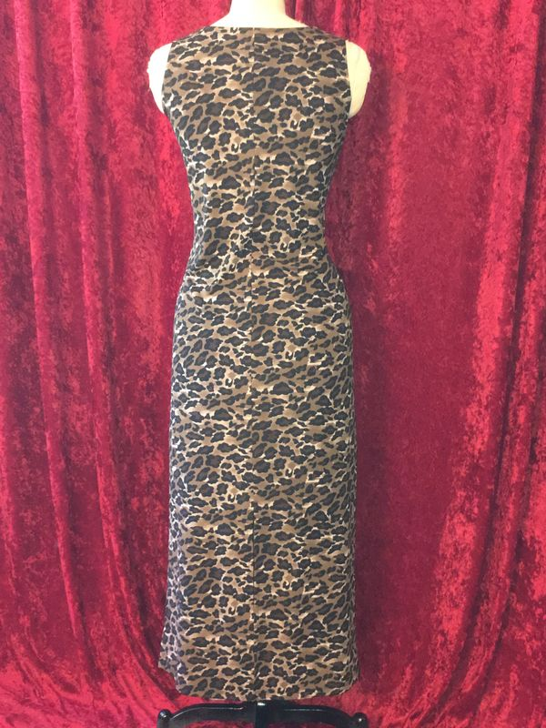 Slinky, Long Leopard Print Dress - product images  of