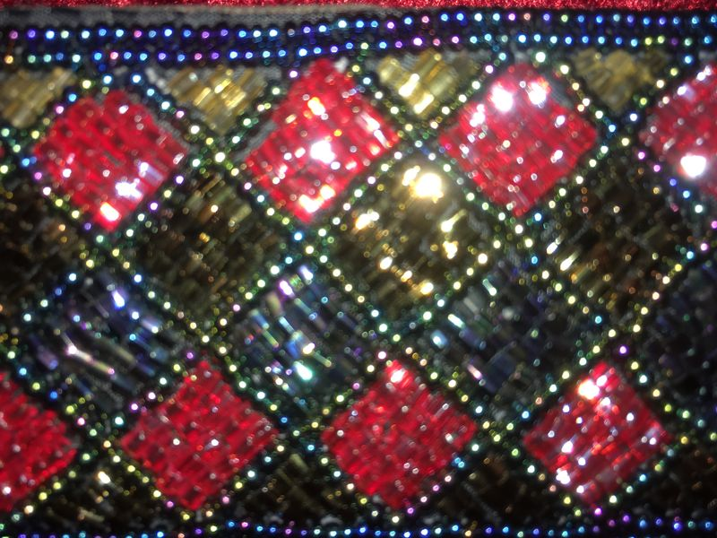 Flawless, Beaded Belt Brilliant Colors & Pattern - product images  of