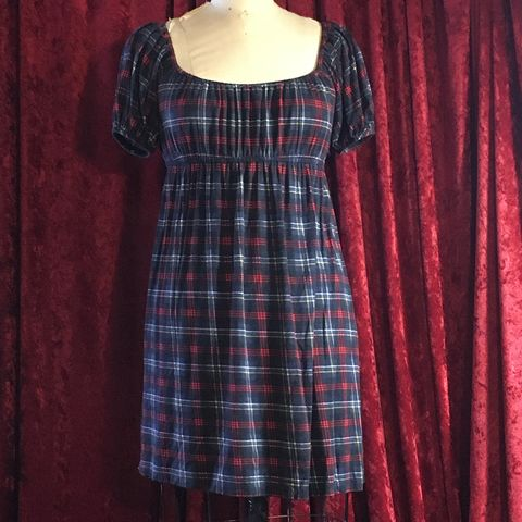 Betsey,Johnson,Plaid,Tunic/Dress,Betsey Johnson Plaid Tunic/Dress
