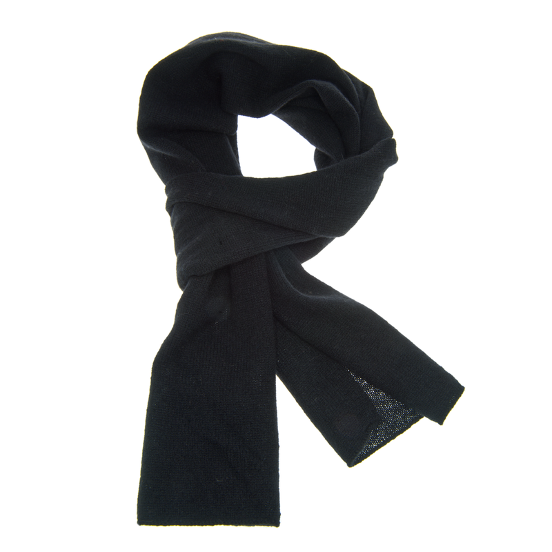SCARF, BIG SHAWL or MEGA STOLE - Black - product images  of