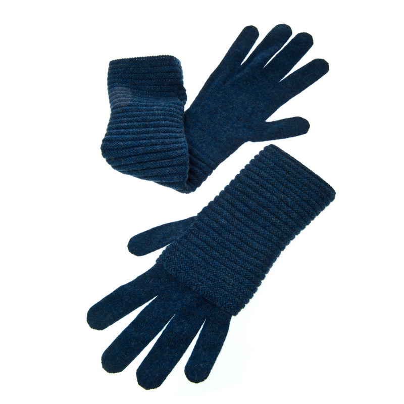 The Wonder Gloves - HEATHERED BLUE - product images  of