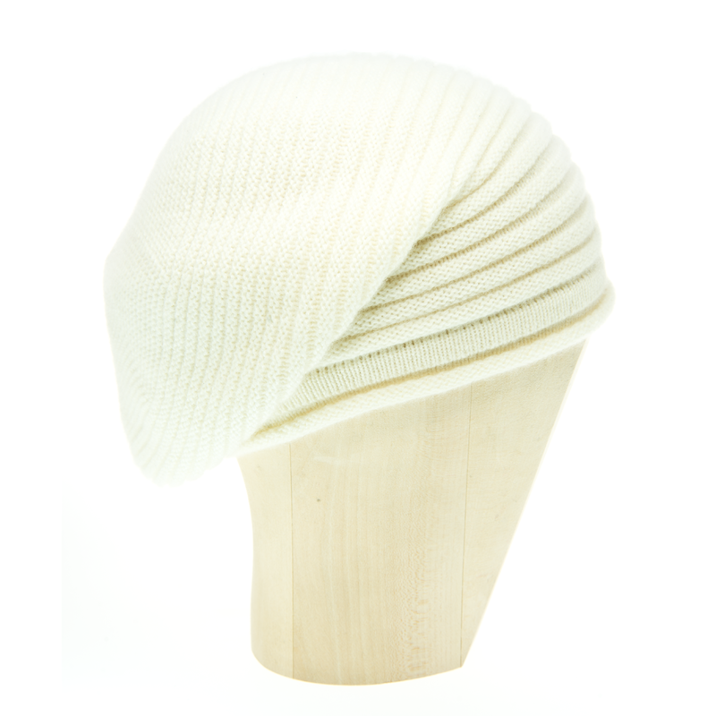 Horizontal Knit Beanie - PANNA - product images  of