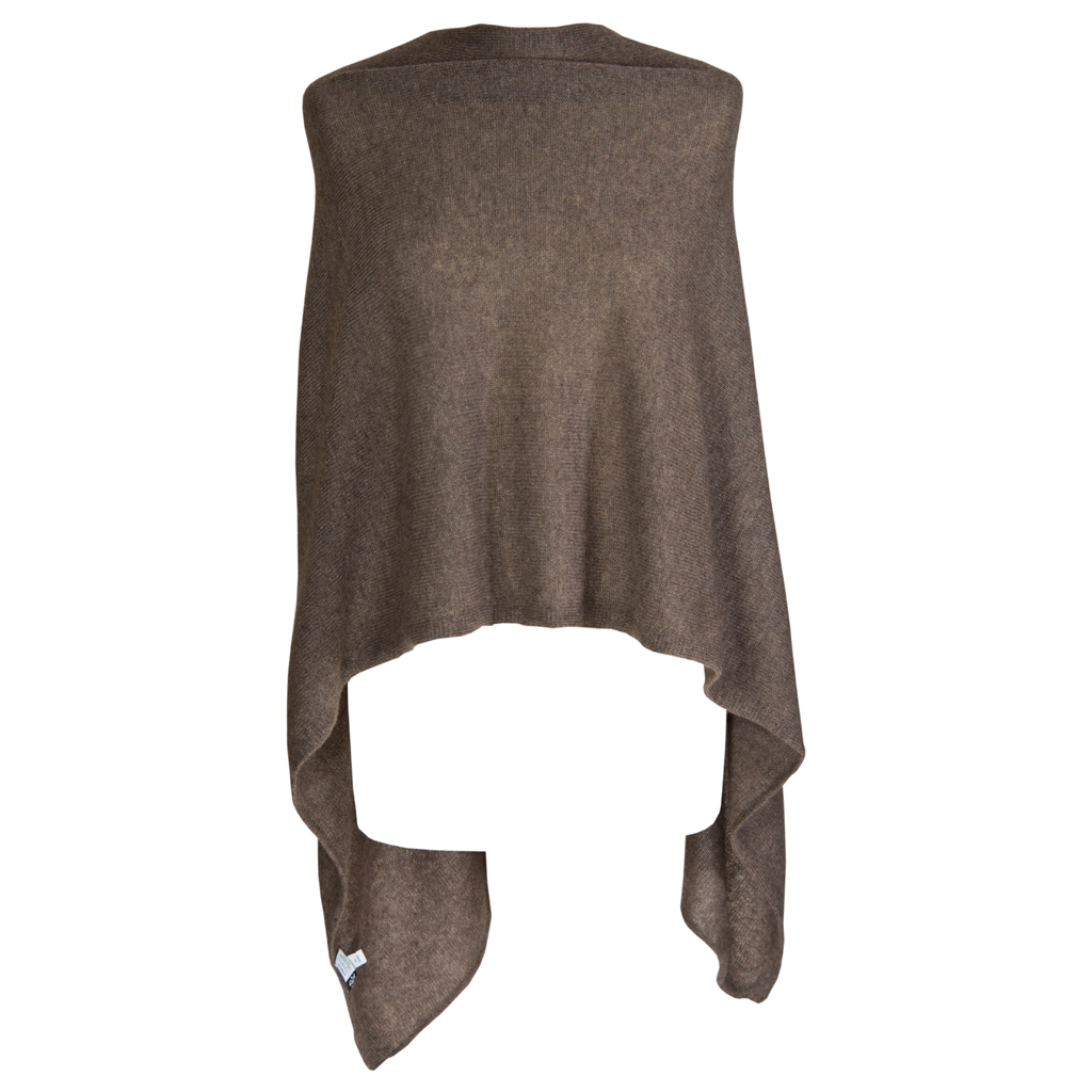 Poncho - Dress Topper - HEATHERED LEGNO - product images  of