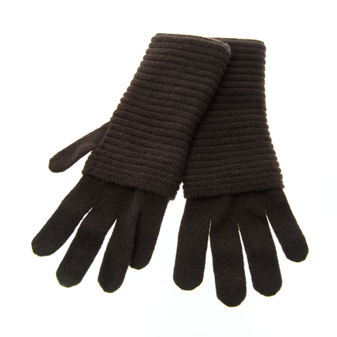 The,Wonder,Gloves,-,MARRONE/,DARK,BROWN,The Wonder Gloves Cashmere Kaschmir Marrone Dunkelbraun Dark Brown Handschuhe