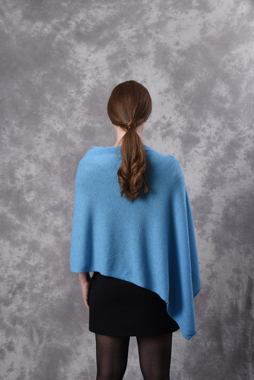 Poncho - Dress Topper - TURQUOISE - product images  of