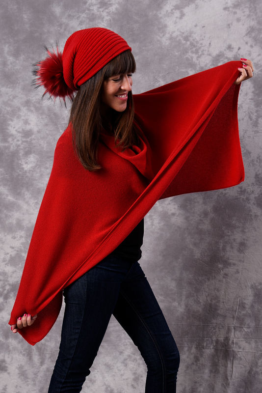 Poncho - Dress Topper - PAPAVERO - product images  of