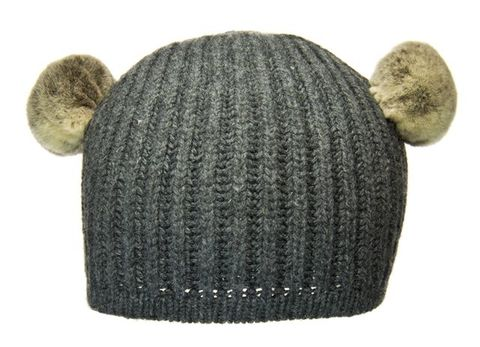 Children's,Beanie,-,Alien,Grey