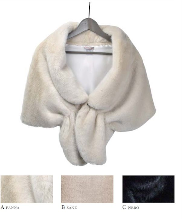 J& Luxurious Faux Fur Shrug - product images  of