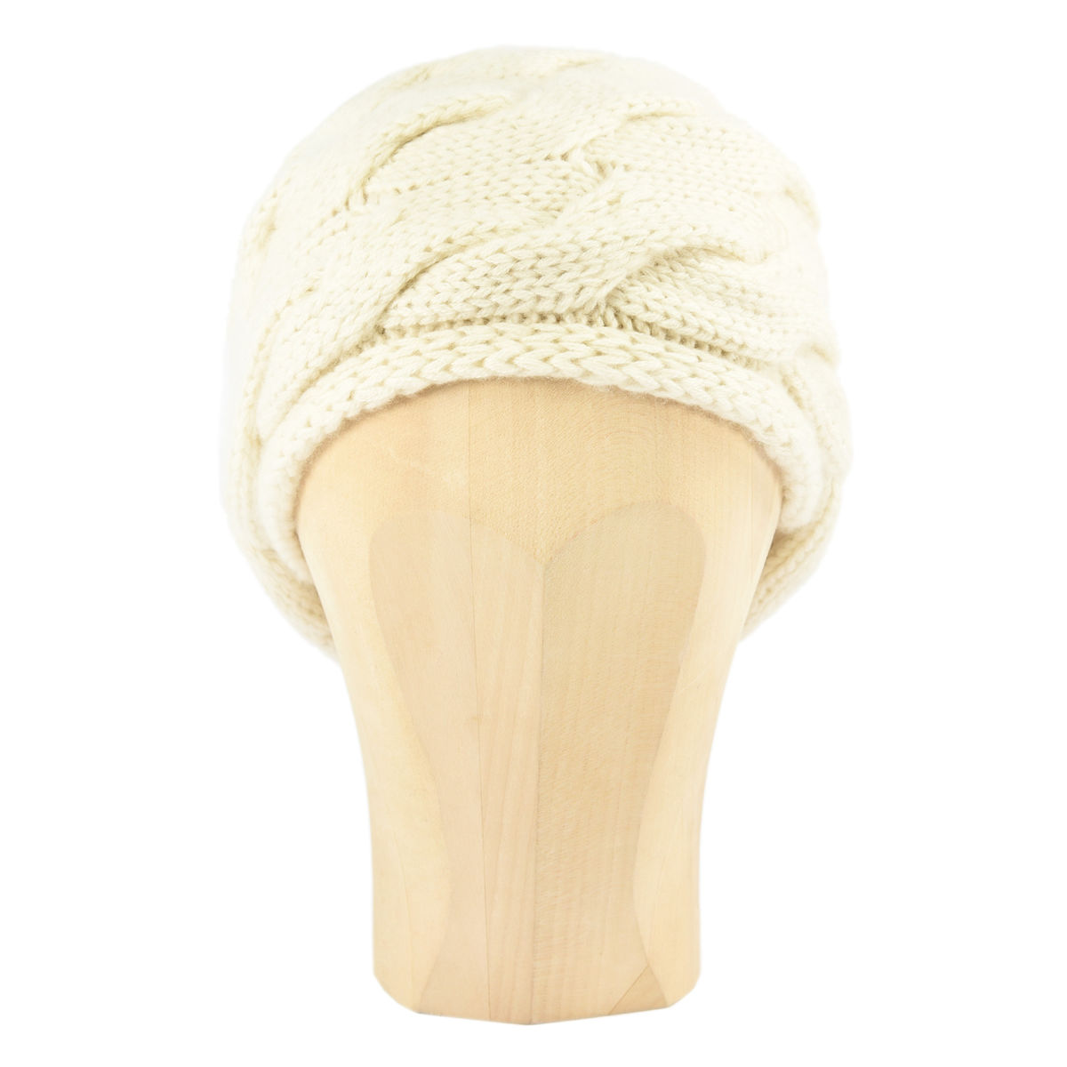 Chunky Braid Beanie - Panna - product images  of
