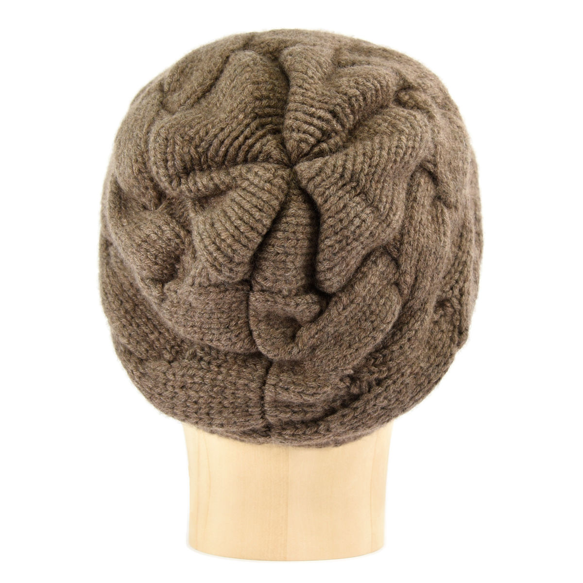 Chunky Braid Beanie - Legno - product images  of
