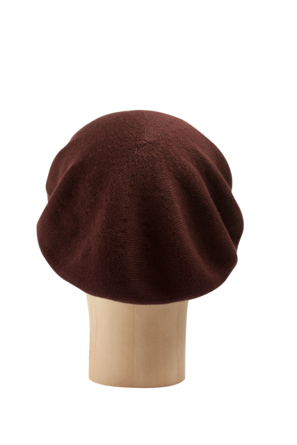 Kopka Cotton Roll-Up Beret - Cabernet - product images  of