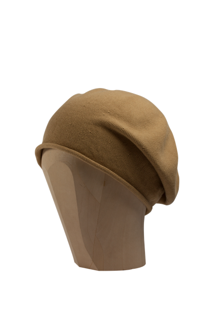 Kopka Cotton Roll-Up Beret - Caramel - product images