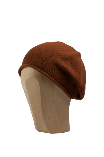 Kopka Cotton Roll-Up Beret - Copper - product images  of