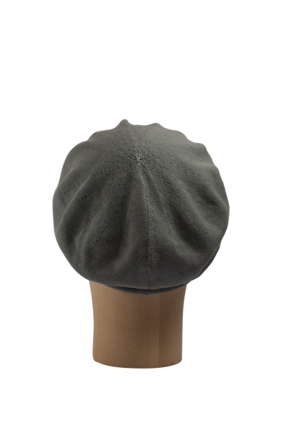 Kopka Cotton Roll-Up Beret - Pewter - product images  of