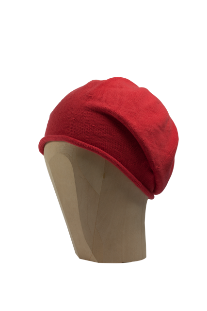 Kopka Cotton Roll-Up Beret - Coral - product images  of