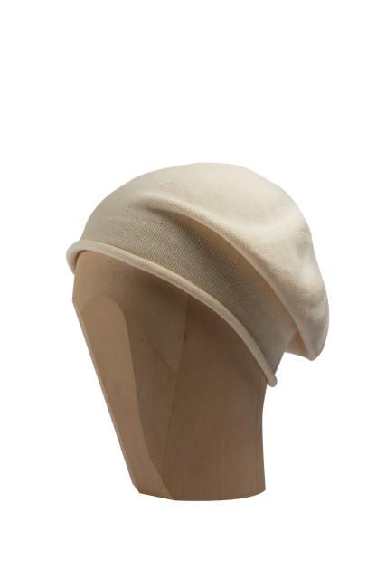 Kopka Cotton Roll-Up Beret - Natural - product images  of