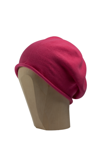 Kopka Cotton Roll-Up Beret - Pink - product images  of