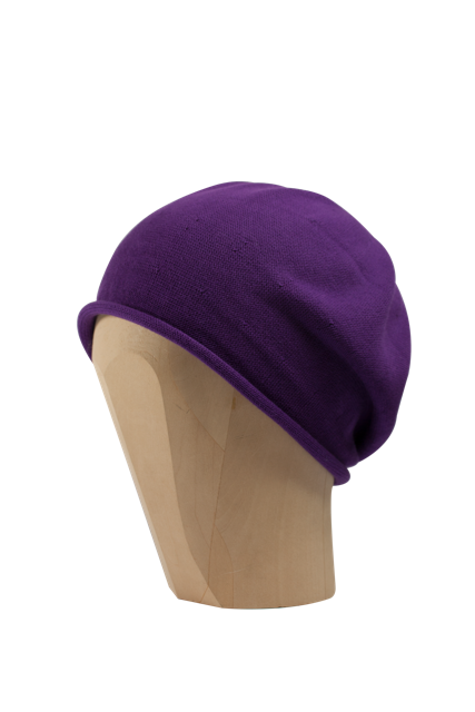Kopka Cotton Roll-Up Beret - Purple - product images  of
