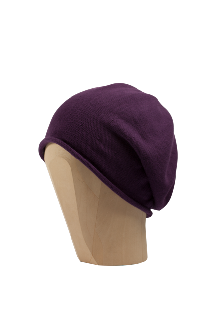 Kopka Cotton Roll-Up Beret - Amethyst - product images  of