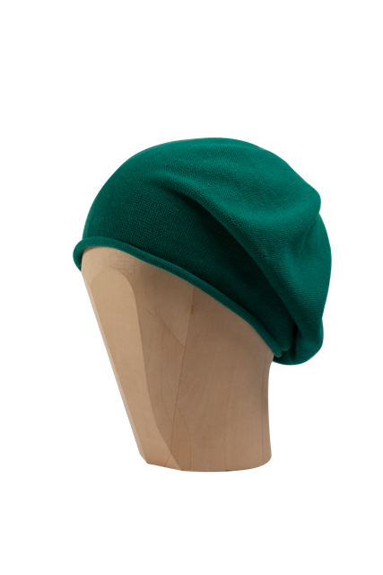 Kopka Cotton Roll-Up Beret - Malachite - product images  of