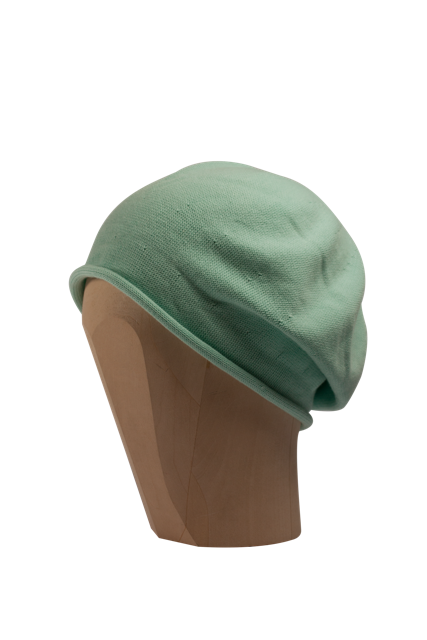 Kopka Cotton Roll-Up Beret - Peppermint - product images  of