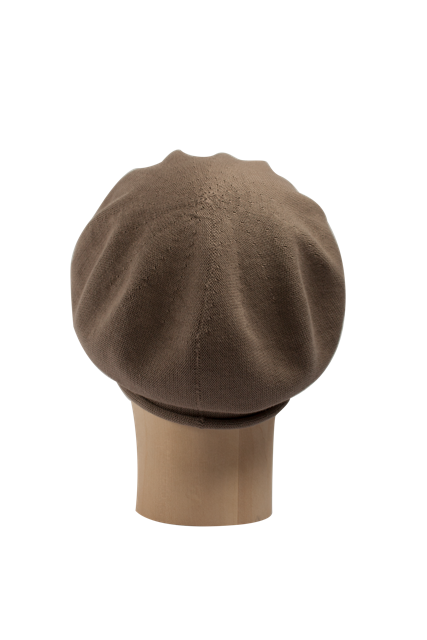 Kopka Cotton Roll-Up Beret - Taupe - product images  of