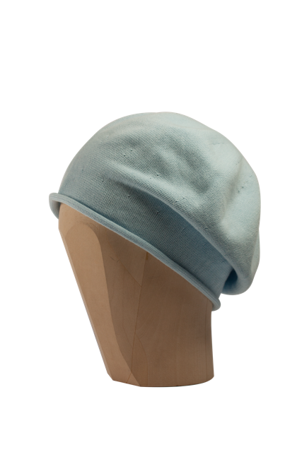 Kopka Cotton Roll-Up Beret - Baby Blue - product images  of
