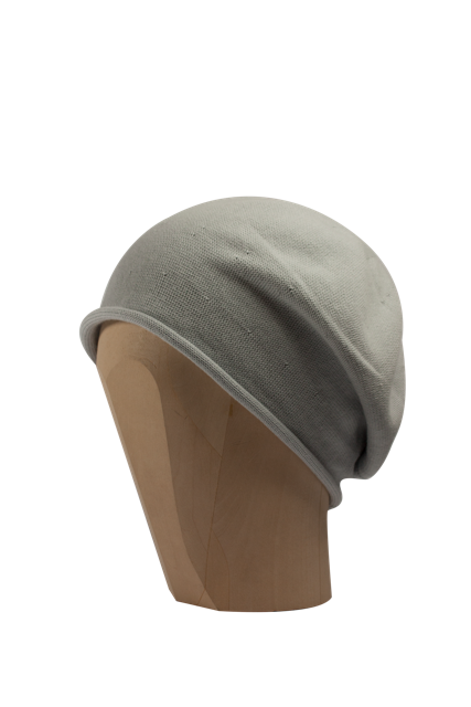 Kopka Cotton Roll-Up Beret - Silver - product images  of